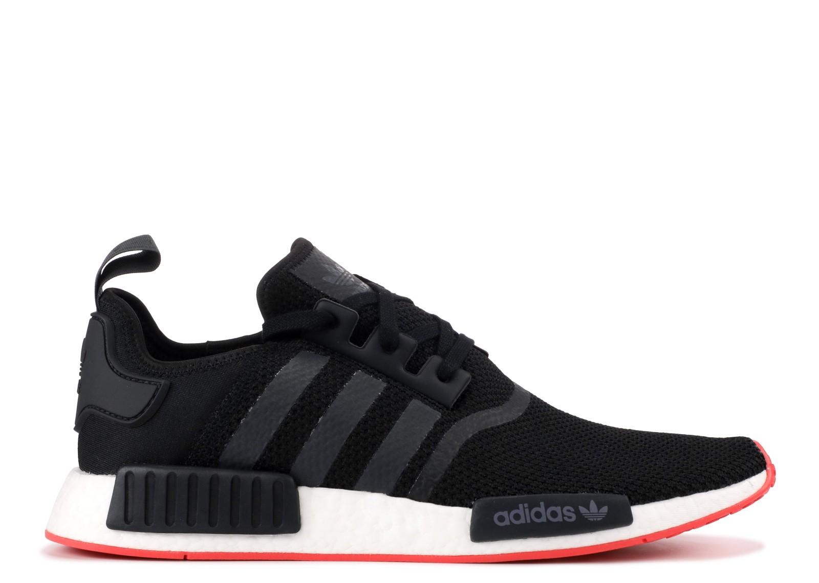 adidas nmd r1 originals sneaker f35882 grauschwarzrot