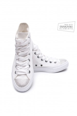 Converse Swarovski White I Hightop