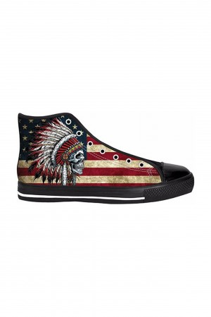 Native american skull shoes