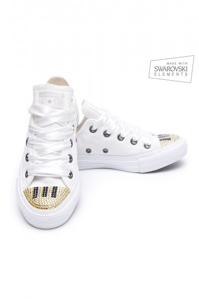 Converse Swarovski Grand Piano Gold
