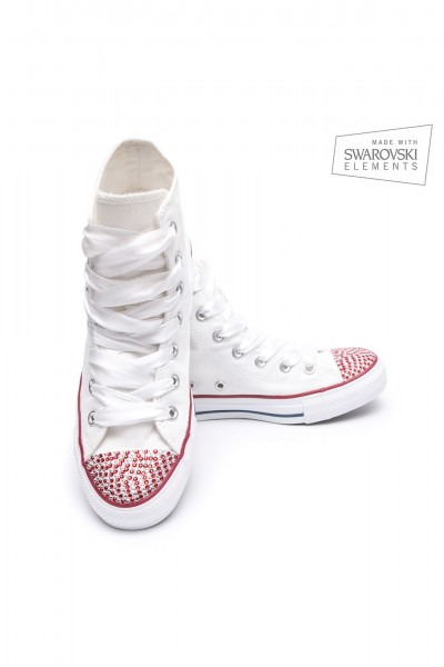 Converse Swarovski High White I