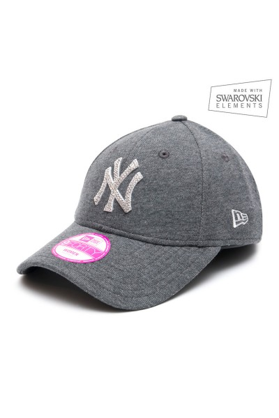 New Era Dark Grey/White