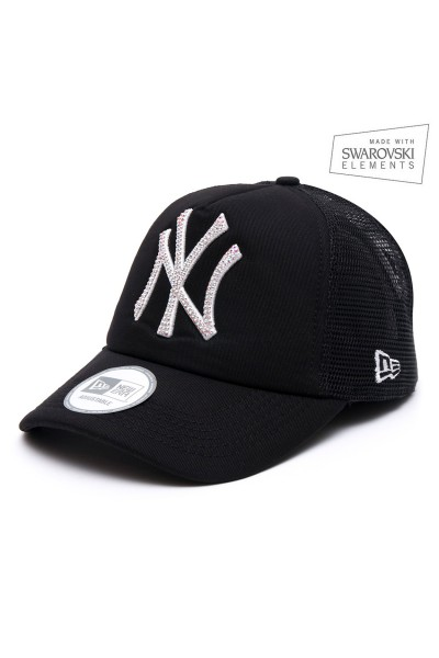 New Era Trucker Black AB Unisex
