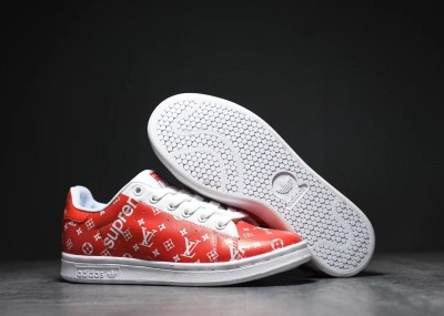 Custom Adidas Stan Smith - Supreme x LV