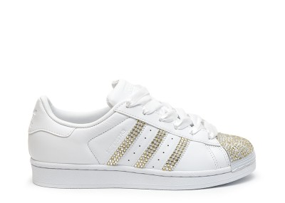 Adidas Superstar Crystal Gold&Silver NS trainers