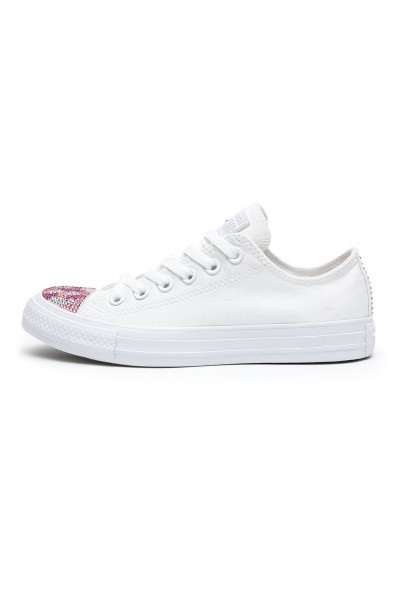 Converse Swarovski White Army Limited Edition