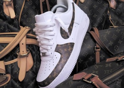 Custom Luis Vuitton Nike Air Force 1