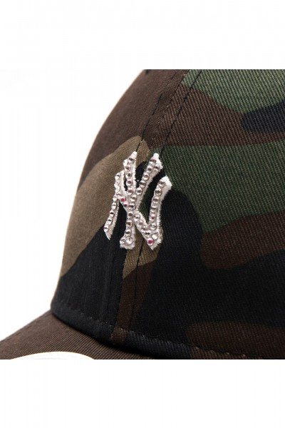 New Era Army with Swarovski Silver