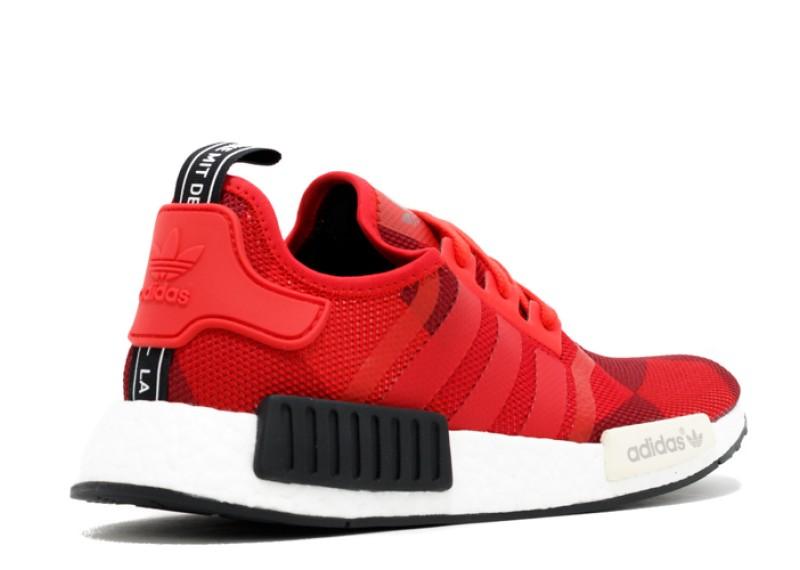 b405422f5 ... Adidas NMD R1 Red White Black ...