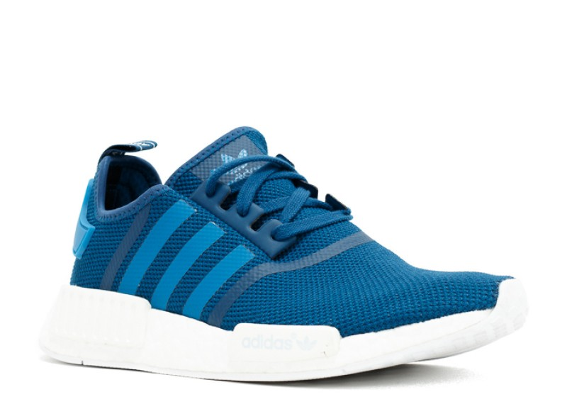 official photos 1bdc2 32546 Adidas NMD R1 Blue/White